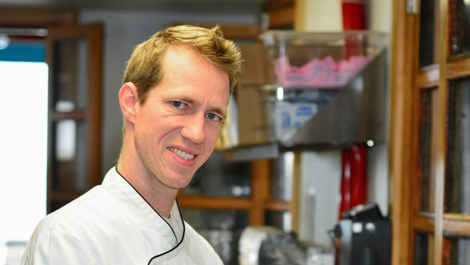 Randy Russell, Chef at Red Fish Blue Fish Restaurant.