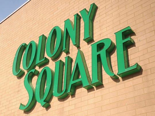 The Colony Square Mall in Zanesville.