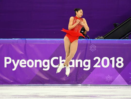 Mirai Nagasu, who dazzled at the Pyeongchang Games