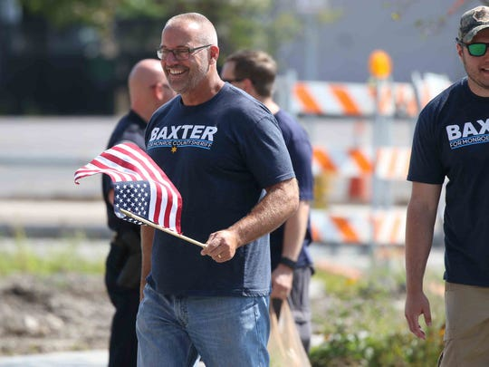 Todd Baxter, a candidate for Monroe County Sheriff,