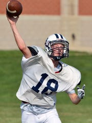 Corey Wise and his West York teammates are looking to rebound after a 2-8 season in 2017. DISPATCH FILE PHOTO
