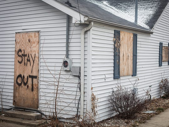 File photo of an abandoned Muncie home.