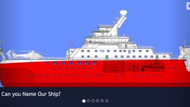 """The internet wants to name this majestic new ship """"RRS Boaty McBoatface."""""""