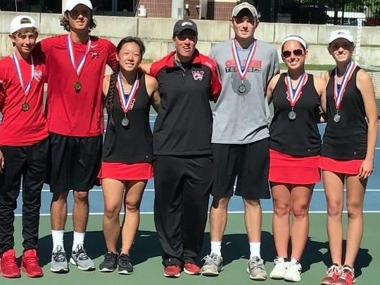 Wichita Falls High School qualified three doubles teams