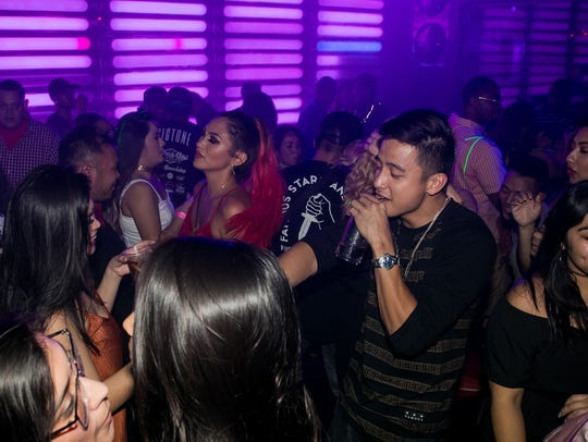 Partygoers danced the night away at the W in Tumon,