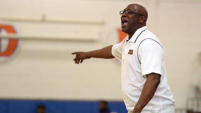 Former Paterson Eastside boys' basketball coach Juan Griles.