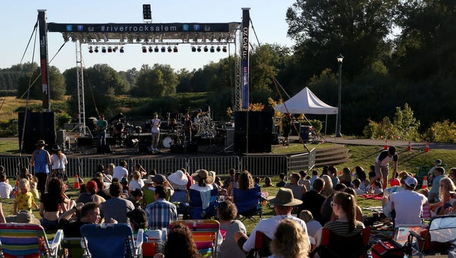 Salem's Riverfront Park is slated to get a new amphitheater in 2020. The project is estimated to cost $1.5 million.