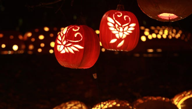 The Great Jack O' Lantern Blaze is just one of the events we gave tickets away to this Halloween season.