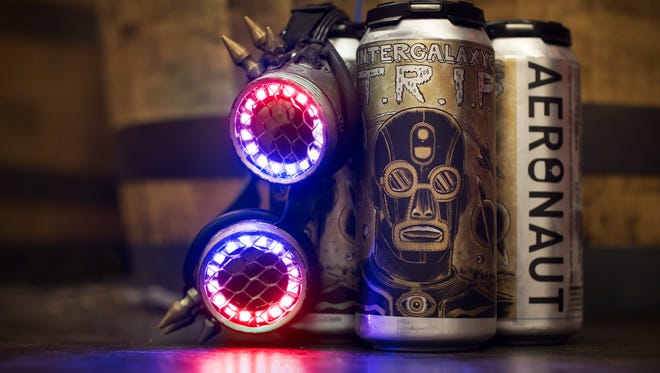 Aeronaut Brewing Co. of Somerville, Massachusetts, has released the new album by Boston band The Lights Out via its beer cans.