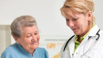 The amount that American elderly need to cover their health care costs in retirement is 9.4% less than it was a year ago, according to the Employee Benefit Research Institute.