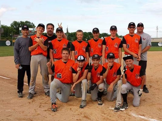 Small Town Baseball Champs