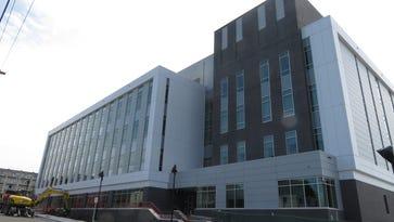 Centerpiece of Binghamton University's Johnson City campus nears completion