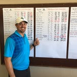 Nevaad men's golf coach Jacob Wilner won the Washoe County championship over the weekend.