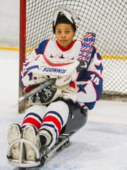 Gabby Graves-Wake, a goalie for the United States National