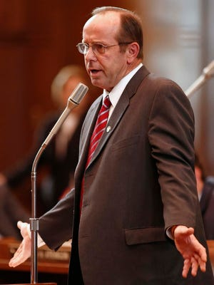 Sen. Jeff Kruse, R-Roseburg, was the chief sponsor of a bill seeking to reduce opiate overdose deaths. At the urging of public health officials, a Good Samaritan amendment is likely in the 2015 session.