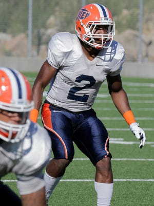 UTEP safety Ishmael Harrison will be key for the Miners against UTSA on Saturday in the Sun Bowl.