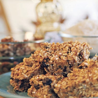 These Healthy Energy bars are easy to make and delicious.