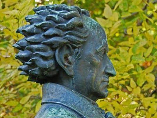 Goethe Bust 2
