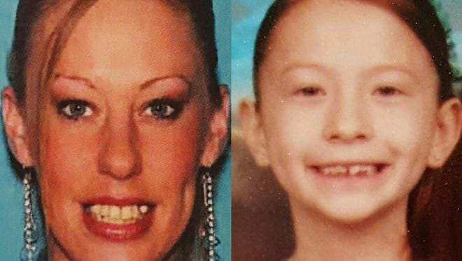 Amanda Elizabeth Hayward was last seen leaving her Hamburg Township residence in the area of Chilson and Bishop Lake roads at 3 a.m. May 10, 2016. She left the location with her 7-year old daughter, Sapphire Elizabeth Palmer.