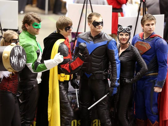 San Angelo Comic Con welcomes cosplayers and casually dressed fans alike.