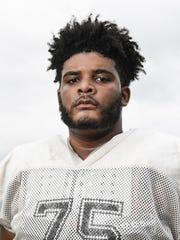 Crescent High School offensive lineman Cam Richardson