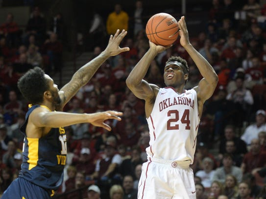 Oklahoma guard Buddy Hield and the Sooners play strikingly