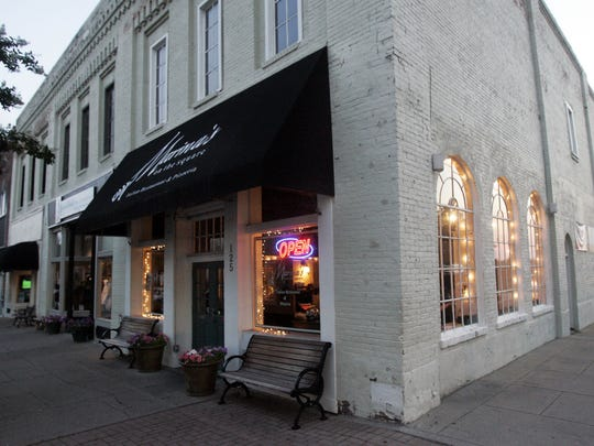 Marina's on the Square is located at 125 N. Maple St. in downtown Murfreesboro.