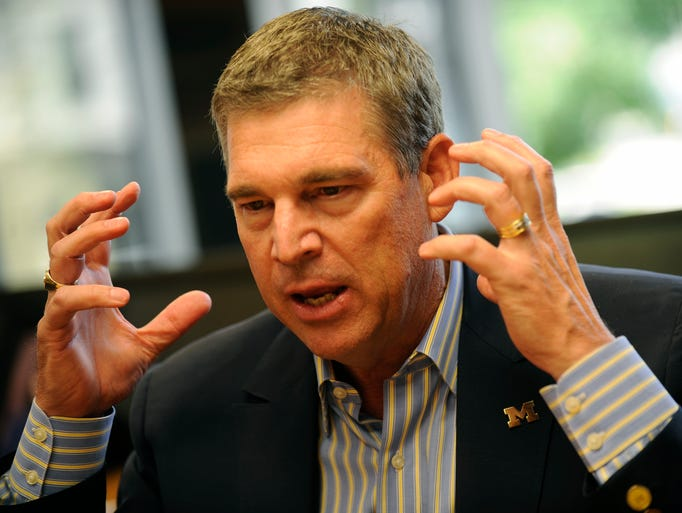 Dave Brandon, former CEO of Domino's and a former Michigan
