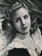 Eva Perón, shown in this 1946 photo, became first lady