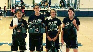The Silver Bullets won the teen division of the La Plata 3-on-3 Basketball Tournament.