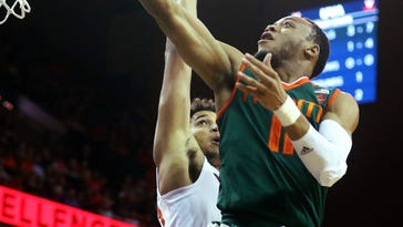 Bruce Brown's three-pointer helps Miami hand Virginia fourth loss in a row