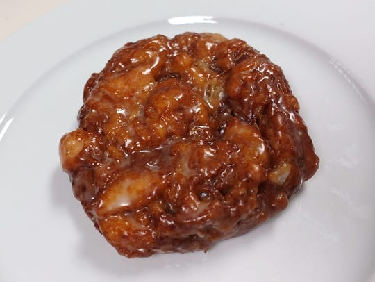 Apple fritter from Express Donuts in Goodyear, AZ.
