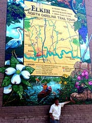 Tthe town of Elkin has added to the Appalachian Mural