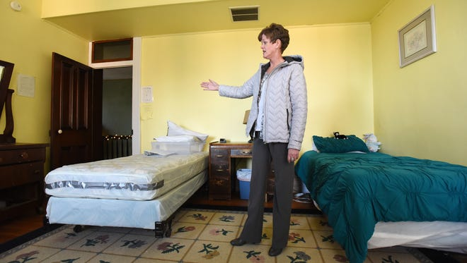 Perry Behavioral Health Choices Executive Director Theressa Snyder talks about the conditions at Stanton Villa in New Lexington. The residential substance abuse rehabiliation center is expanding, adding beds and creating individual rooms for women undergoing drug rehab.