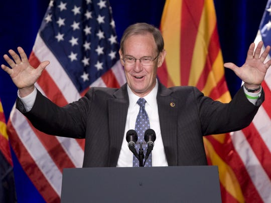 "Former Arizona Attorney General Terry Goddard has been leading an initiative against ""dark money."""