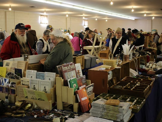 Historical reenactment enthusiasts and general history buffs gathered in Fremont for the 26th annual Living History Trade Fair.