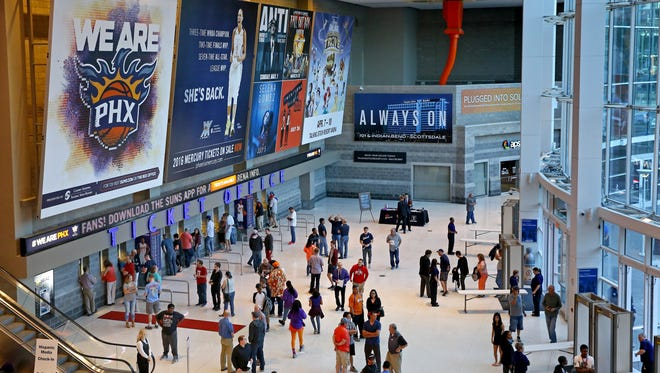 The Suns want a new home to replace the city-owned Talking Stick Resort Arena, among the oldest in the NBA.