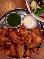 Chicken pakoras at Chai Pani in downtown Asheville.