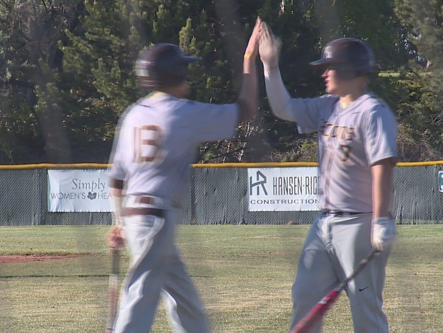 Eagle vs. Vallivue varsity baseballm