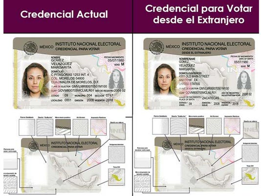 Mexico issues voter ID cards to citizens abroad