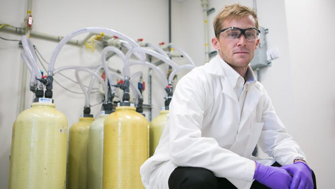 Trevor Brown with DEact Medical Solutions, offers the ability to chemically neutralize a broad range of pharmaceutical substances, reducing environmental impact.