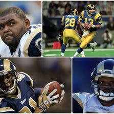 Former Rams Orlando Pace, Kurt Warner, Torry Holt and Isaac Bruce have been nominated for the NFL Hall of Fame 2015 class.