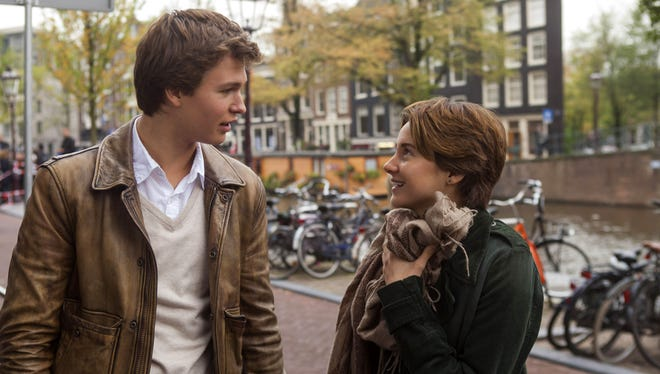 Ansel Elgort, left, and Shailene Woodley in 'The Fault In Our Stars.'