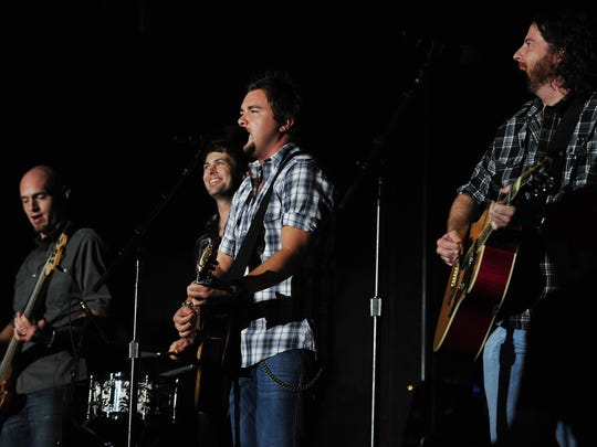 Eli Young Band performs at the Alabama National Fair in Montgomery on Saturday.