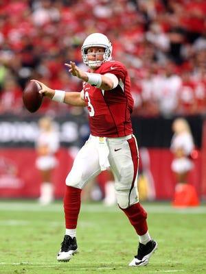 Arizona Cardinals quarterback Carson Palmer.
