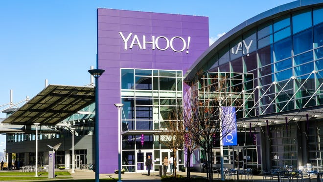 Yahoo's campus in Sunnyvale, Calif.