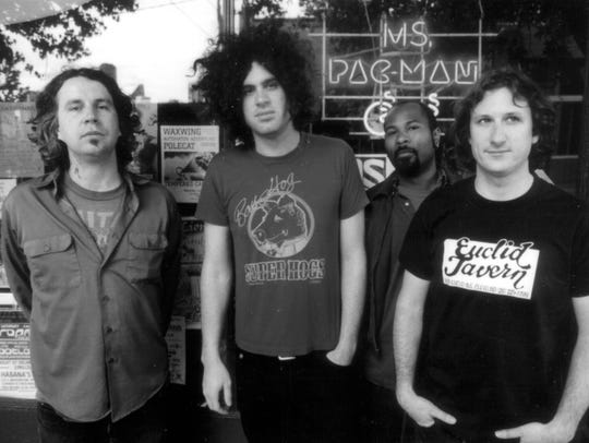 Marcus Durant (second from left) will front MC5 for