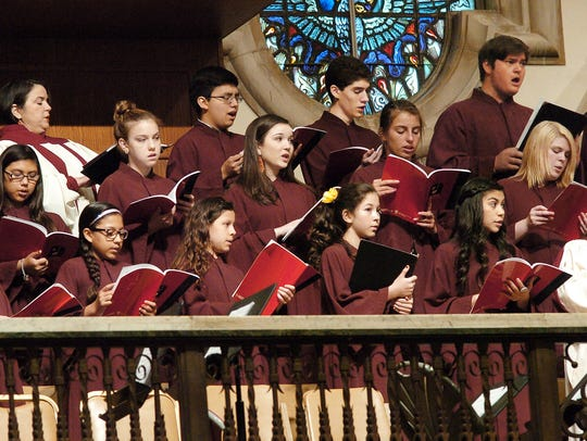 The Cathedral Youth Choir performs Sunday at Corpus