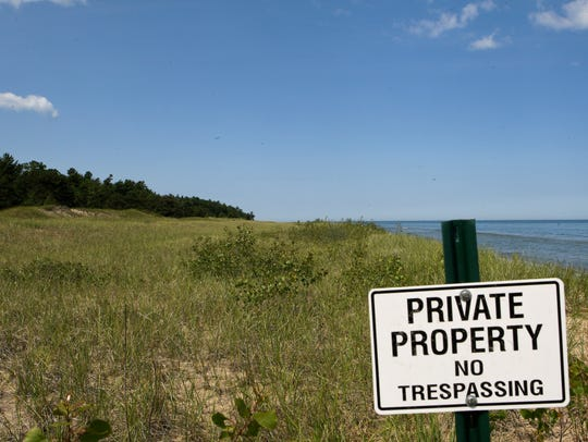 Kohler Co. is proposing a golf course on land currently not open to public use. The parcel along Lake Michigan lies just north of Kohler-Andrae State Park. A judge on Friday said the Department of Natural Resources did not follow proper steps when it approved a key wetland permit.