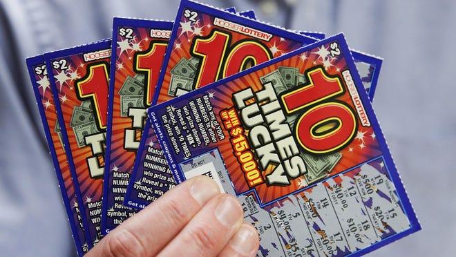 Hoosier Lottery tickets